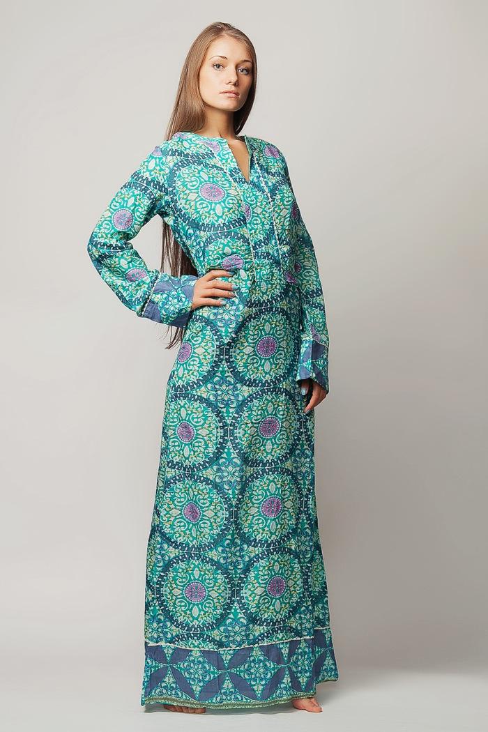 Заказать Длинное Платье С Длинными Рукавами 115
